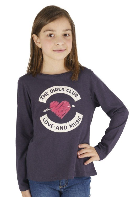 Girl´s anthracite T-Shirt...