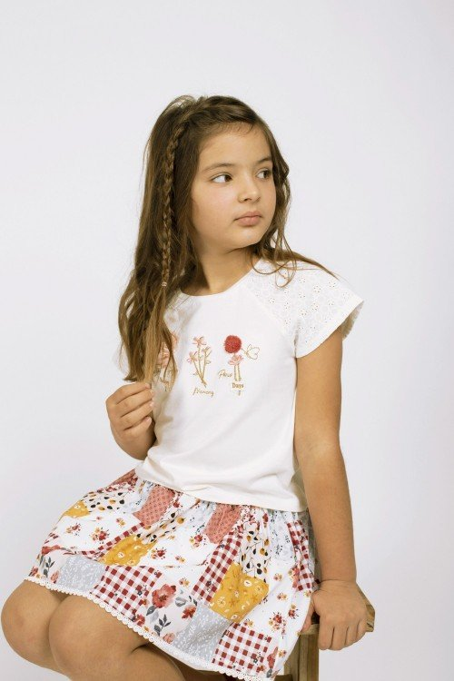 Girl´s printed Skirt Fapatch
