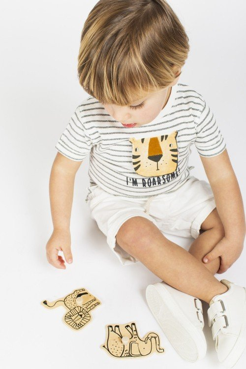 Baby´s striped T-Shirt Ceoguas