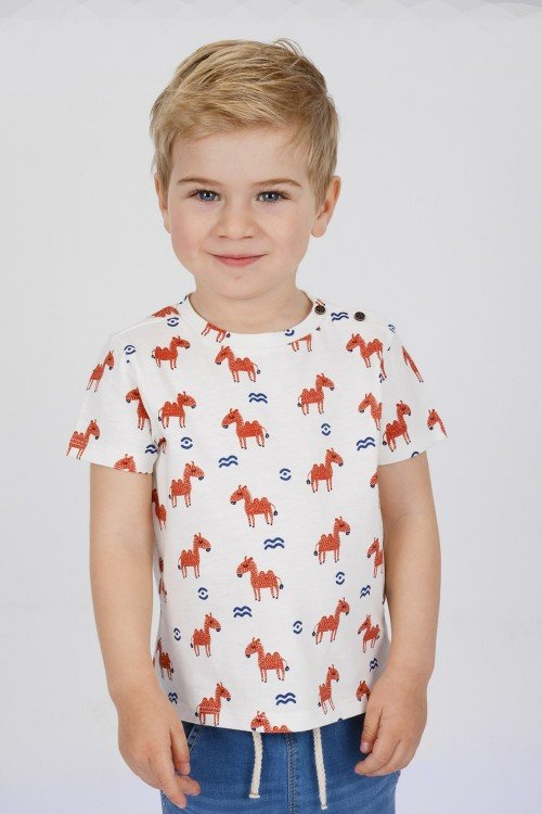 Baby´s printed T-Shirt Contras